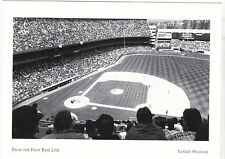 """~Post Card~""""From The 1st Base Line"""" @ Yankee Stadium (A82-3)"""