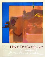 """Helen Frankenthaler's """"Rio Grande, 1987"""" 29x36 rare NEW retails for  $45.00 O/P"""