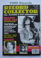 RECORD COLLECTOR MAGAZINE - Issue 217 September 1997 - Marc Bolan / Cast