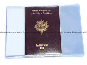 5 x Porte Protege PASSEPORT NEUF PASSPORT PROTECT COVER