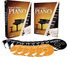 NEW - Learn & Master Piano Dvd/Cd/Book Pack