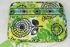 NWT Vera Bradley E-READER SLEEVE in LIME'S UP Kindle Nook Nintendo