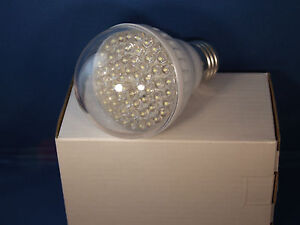 Black Light Blue 60LED Poster UV Glow Low Heat Bulb 110V USA Engineer Certified