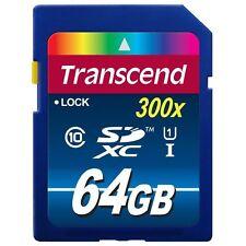 Class 1 Speicherkarten mit 64GB