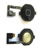 iPhone 4 4G Menu Home Button Key Cap Internal Flex Cable Assembly Black UK