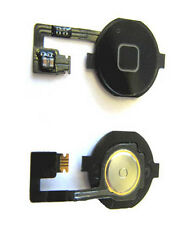 iPhone 4 4G Menu Home Button Key Cap Internal Flex Cable Assembly Black UK