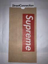 Supreme New York Tall Can Brown Paper Bag Set Of 1 Box Logo Black Red Grey