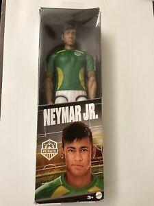 """Neymar Jr. Soccer Action Figure FC Elite Mattel 12"""" Brand New"""