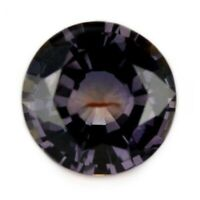 Certified Natural Unheated Multicolor Sapphire 1.05ct Madagascar Round 6x5.9mm