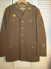 WW2 U.S. Army Dress Uniform Jacket 25th Division W/Period Photograph of Solider