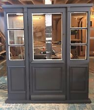 Solid Hardwood Front Door with Sidelights and Raised and Field Panels, Bespoke!