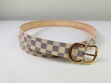 Louis Vuitton Mini Damier Azur Belt
