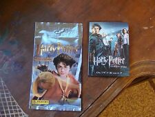 Harry Potter CHAMBER of SECRETS album Stickers Panini + Promo Pin GOBLET of FIRE