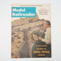 Vintage Model Railroader Magazine December 1965