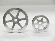 OBX Silver Precision Overdrive Pulley For 96 97 98 99 00 Honda Civic EX Si 1.6L