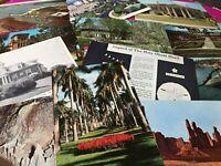 100 Vintage Postcards Lot