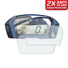 2 x Honda NC700 2012+ Dashboard Screen Protectors: Anti Glare