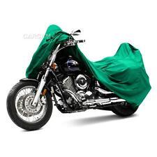 "GREEN MOTORCYCLE SPORT DIRT BIKE WEATHERPROOF TRAVEL STORAGE COVER 86"" LENGTH"