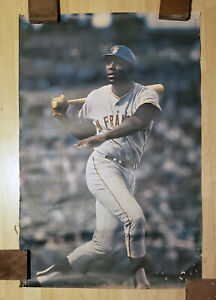 Vintage 1969 SAN FRANCISCO GIANTS / WILLIE MCCOVEY Sports Illustrated poster HOF