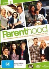 PARENTHOOD (COMPLETE SEASON 2 - DVD SET SEALED + FREE POST)