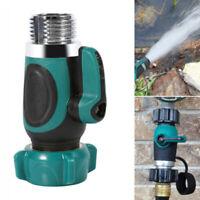 "NPT 3/4"" Garden Hose 1-Way Stop Valve Water Pipe Faucet Connector US Standard"