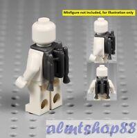 LEGO Star Wars - Jet Pack w/ Nozzles Dark Gray Jango Fett Minifig Clone Jetpack