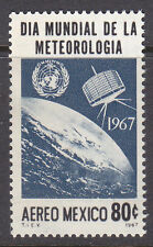 MEXICO Stamps Sc#C-323.Tiros Satelite over Earth,World Meteorological Day.MNH