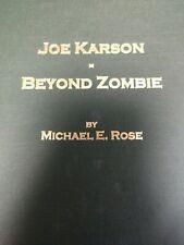 Zombie Ball Magic Joe Karson: Beyond Zombie Hardcover 1999 1st Ed Limited 500