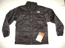 NWT THE NORTH FACE BOYS COAT JACKET size M MEDIUM 10 / 12 BLACK