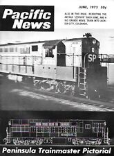 Pacific News Ju 1973 Western Pacific Feather River Canyon FM Trainmaster Sierra