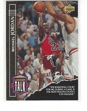 1993-94 UPPER DECK BASKETBALL LOCKER TALK MICHAEL JORDAN #LT1 - CHICAGO BULLS