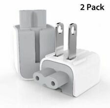 Original Apple Duckhead AC Power Charger Wall Plug Adapter VOLEX APC7D White x 2
