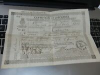 BROCKLEBANK LINE Liverpool Bowfell 1869  Cert Charles Jones Dolgelly  calcutta