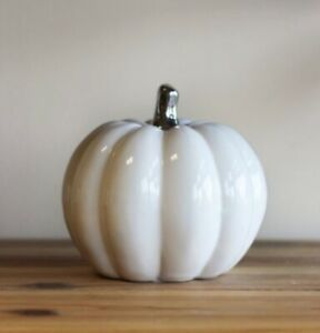 ceramic pumpkin ornament autumn halloween