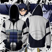 Boku No//My Hero Academia Midoriya Izuku Deku Cosplay Hoodie Jacket Coat Sweat Zb
