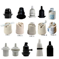 3x Light Bulb Lamp Holder Pendant Edison Light Socket Vintage E27 /B22 /E14