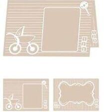ebosser A4  Embossing Folder - Baby Blocks :  EF-BBL-A4