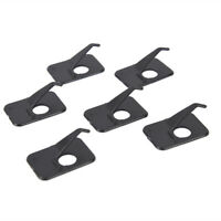 Professional 6Pcs Recurve Bow Arrow Rest Right/Left Hand 3 x 2 x 1cm Black DO