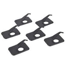 New listing Professional 6Pcs Recurve Bow Arrow Rest Right/Left Hand 3 x 2 x 1cm Black T_C3A