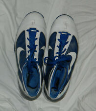 Mens NIKE Hyperize #367181 114 Blue and White Basketball Sneakers Shoes size 14