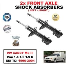 2x Amortiguadores delanteros Set para VW CADDY II Furgoneta 1.4 1.6 1.9 D SDI
