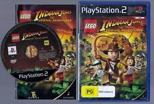 Lego Indiana Jones, The Original Adventures - Playstation 2 Game - Complete,