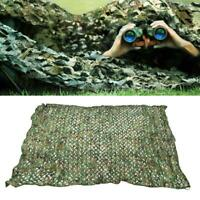 Camouflage Net Military Sun Shade Hunting Shooting Hide Cover Tools 2x3/3x4/2x4m
