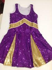 Revolution Girls Dance Ice Skating Competition Dress Costume Size Xlc Halloween