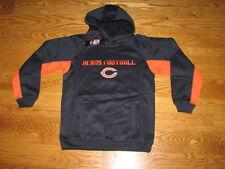 NEW Boys CHICAGO BEARS Football PERFORMANCE Fleece Hoody Size M 10-12 Med Youth