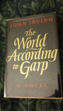 THE WORLD ACCORDING TO GARP by JOHN IRVING, First Edition, 1st Printing HCDJ, VG