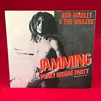 """BOB MARLEY & THE WAILERS Jamming 1977 UK 7"""" vinyl Single EXCELLENT CONDITION"""