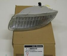 Rover 75 Offside Drivers Right Side Front Indicator Lamp Light Lens XBD000100