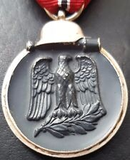 ✚7745✚ German Wehrmacht Eastern Front Medal Ostmedaille post WW2 1957 pattern