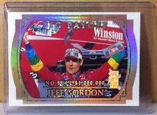 2000 PRESS PASS VIP EXPLOSIVE #X29 JEFF GORDON